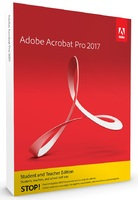 Acrobat Professional Student and Teacher Edition - 2017 Release - Windows DVD