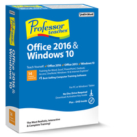 Professor Teaches Office 2016 & Windows 10 Tutorial Set (Win - Download)
