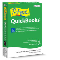 Professor Teaches QuickBooks 2017 (Win - Download)