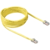 Belkin Cat.6 Patch Cable - RJ-45 Male Network - RJ-45 Male Network - 15ft - Yellow