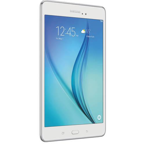 "Samsung Galaxy Tab A SM-T350 Tablet - 8"" - 1.50 GB - Qualcomm Snapdragon 410 APQ8016 Quad-core (4 Core) 1.20 GHz - 16 GB - Android 5.0 - White"