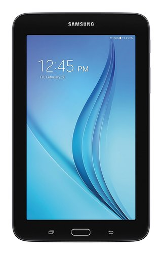 "Samsung Galaxy Tab E Lite SM-T113 Tablet - 7"" - 1 GB Quad-core (4 Core) 1.30 GHz - 8 GB - Android 4.4 - Black"