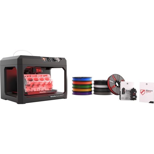 MakerBot Replicator+ Essentials Pack with 1 Year MakerCare