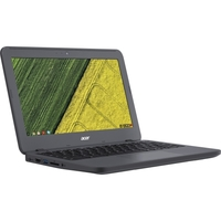 """Acer Chromebook 11 N7 C731T-C42N 11.6"""" Touchscreen Chromebook - Intel Celeron N3060 Dual-core (2 Core) 1.60 GHz - 4 GB LPDDR3 - 16 GB Flash Memory - Chrome OS - 1366 x 768 - CineCrystal, In-plane Switching (IPS) Technology - Gray - Intel HD Graphics 400 LPDDR3 - Bluetooth - Front Camera/Webcam - IEEE 802.11ac - HDMI - 2 x USB 3.0 Ports - 10 Hour Battery Run Time"""