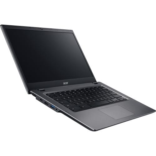 "Acer CP5-471-C0EX 14"" LCD Chromebook - Intel Celeron 3855U Dual-core (2 Core) 1.60 GHz - 4 GB LPDDR3 - 16 GB Flash Memory - Chrome OS - 1366 x 768 - ComfyView - Intel HD 510 LPDDR3 - Bluetooth - Front Camera/Webcam - IEEE 802.11a/b/g/n/ac - HDMI - 2 x USB 3.0 Ports - 1 x USB 3.1 Ports - USB Type-C"