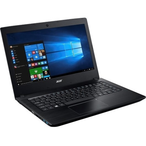 "Acer TravelMate P249-M TMP249-M-38SM 14"" LCD Notebook - Intel Core i3 i3-6100U Dual-core (2 Core) 2.30 GHz - 4 GB DDR4 SDRAM - 128 GB SSD - Windows 10 Pro 64-bit - 1366 x 768 - ComfyView - Intel HD Graphics 520 DDR4 SDRAM - Bluetooth - Front Camera/Webcam - IEEE 802.11a/b/g/n/ac - Gigabit Ethernet - Network (RJ-45) - HDMI - 2 x USB 3.0 Ports"