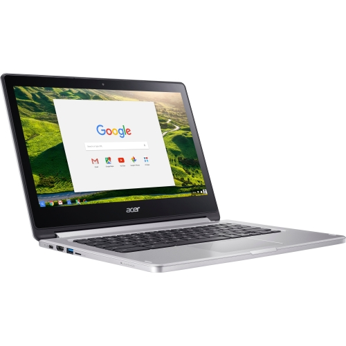 "Acer CB5-312T-K6TF 13.3"" Touchscreen LCD Chromebook - MediaTek M8173C Quad-core (4 Core) 2.10 GHz - 4 GB LPDDR3 - 32 GB Flash Memory - Chrome OS - 1920 x 1080 - In-plane Switching (IPS) Technology - Imagination Technologies PowerVR GX6250 LPDDR3 - Bluetooth - Front Camera/Webcam - IEEE 802.11ac - HDMI - 1 x USB 3.0 Ports - 1 x USB 3.1 Ports - USB Type-C - 12 Hour Battery Run Time"