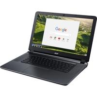 "Acer CB3-532-C42P 15.6"" Active Matrix TFT Color LCD Chromebook - Intel Celeron N3060 Dual-core (2 Core) 1.60 GHz - 4 GB LPDDR3 - 16 GB Flash Memory - Chrome OS - 1366 x 768 - ComfyView - Granite Gray - Intel HD Graphics 400 LPDDR3 - Bluetooth - Front Camera/Webcam - IEEE 802.11ac - HDMI - 2 x USB 3.0 Ports"
