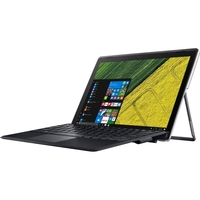 """Acer SW312-31-P4G1 12.2"""" Touchscreen LCD 2 in 1 Notebook - Intel Pentium N4200 Quad-core (4 Core) 1.10 GHz - 4 GB LPDDR3 - 64 GB Flash Memory - Windows 10 Home 64-bit - 1920 x 1200 - In-plane Switching (IPS) Technology - Hybrid - Iron Gray - Intel HD Graphics 505 LPDDR3 - Bluetooth - Front Camera/Webcam - 5 Megapixel Rear Camera - IEEE 802.11ac - 1 x USB 3.0 Ports - USB Type-C"""