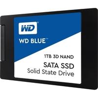 """WD Blue 3D NAND 1TB PC SSD - SATA III 6 Gb/s 2.5""""/7mm Solid State Drive - 560 MB/s Maximum Read Transfer Rate - 530 MB/s Maximum Write Transfer Rate"""