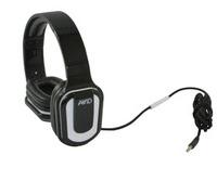 AE-66 Stereo Headphone, Inline MIC, Volume Control, White