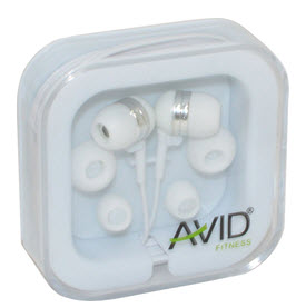 Avid Agility In-Ear Earbuds (White)