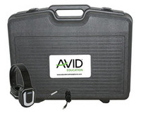 Avid Products AE-66 Over-Ear Headphones Classroom Pack & Case (White - 24Pack)