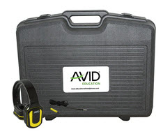 Avid Products AE-66 Over-Ear Headphones Classroom Pack & Case (Yellow - 24Pack)