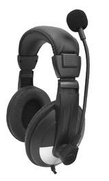 SMB-25VC Over-Ear Lab Headset with Microphone and Volume Control
