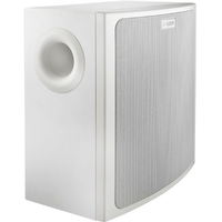 SURFACE-MOUNT SUBWOOFER - WHITE