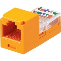 CAT5E ORANGE UTP 8POSITION