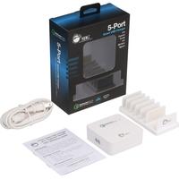 5PORT SMART USB CHARGER PLUS