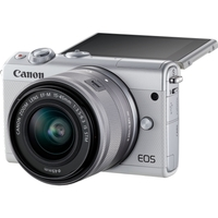 EOS M100 WHT 24.2MP 3IN LCD
