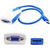 5PK USB 3.0(A) TO VGA