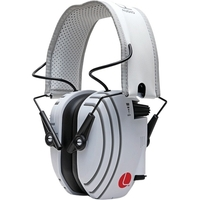 HEADPHONE WHITE W/ GRAY ACCENTS