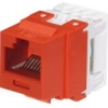 NETKEY CAT6 8POSITION 8WIRE RED