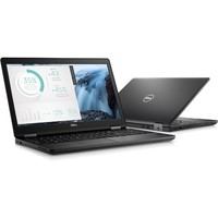 "Dell Latitude 5000 5580 15.6"" LCD Notebook - Intel Core i5 (7th Gen) i5-7200U Dual-core (2 Core) 2.50 GHz - 8 GB DDR4 SDRAM - 256 GB SSD - Windows 10 Pro 64-bit (English/French/Spanish) - 1366 x 768"
