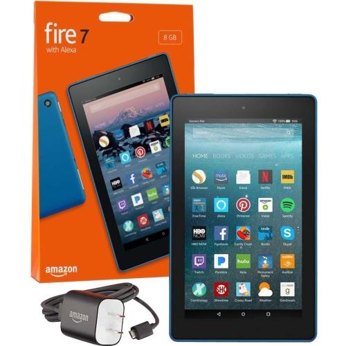 """7"""" Fire 7 Tblt w Alexa 8GB Blu"""