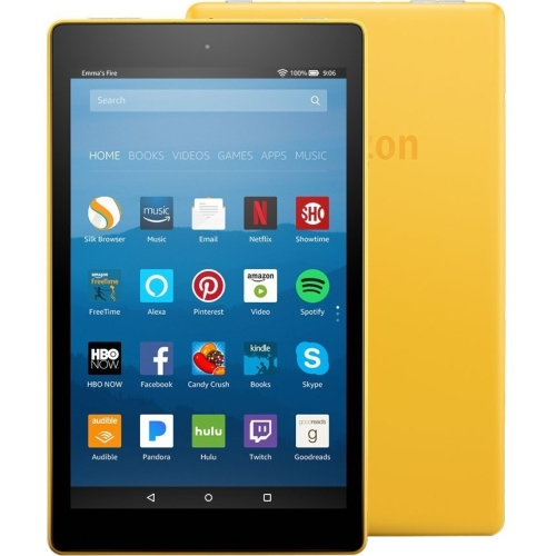 "8"" FireHD8 with Alexa 32GB Ylw"