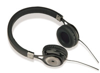 Scosche rh656md Realm On - Ear Headphones with tapLINE III - Black - Special Purchase while quantities last