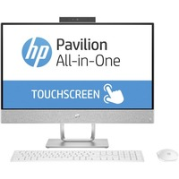 "HP 24-e000 24-e010 All-in-One Computer - AMD A-Series A6-9200 2 GHz - 8 GB DDR4 SDRAM - 1 TB HDD - 23.8"" 1920 x 1080 Touchscreen Display - Windows 10 Home 64-bit - Desktop"