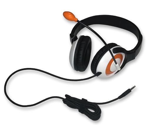 AE-55 On-Ear Headset with Microphone (TRRS - Orange)