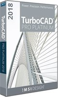 TurboCAD Professional Platinum 2018 (Electronic Software Delivery)