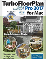 TurboFloorPlan Home and Landscape Pro 2017 Mac (Electronic Software Delivery)