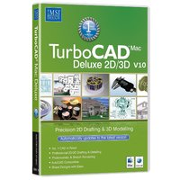 TurboCAD Mac Deluxe 2D/3D v10 (Electronic Software Delivery)