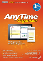 AnyTime Organizer Deluxe 16 (Home Edition) (Electronic Software Delivery)