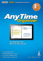 AnyTime Organizer Standard 16 (Home Edition) (Electronic Software Delivery)