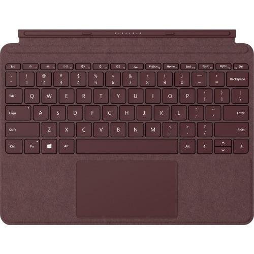 Microsoft Surface Go Keyboard Burgundy