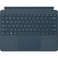 "Microsoft Surface Go Signature Type Cover Keyboard/Cover Case Tablet - Cobalt Blue - Alcantara - 6.9"" Height x 9.7"" Width x 0.3"" Depth COBALT BLUE"