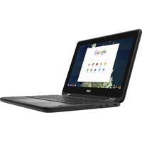 "Dell Chromebook 5000 11 5190 11.6"" LCD Chromebook - Intel Celeron N3350 Dual-core (2 Core) 1.10 GHz - 4 GB LPDDR4 - 32 GB Flash Memory - Chrome OS - 1366 x 768"