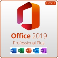 Microsoft Office Professional Plus 2019 for Windows only - not Mac (WAH Download)