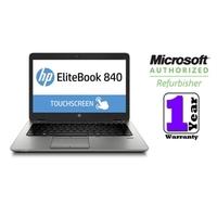 Hewlett-Packard (Refurbished) EliteBook 840 G1 Notebook PC (TOUCHSCREEN), 1.9GHZ, 8GB