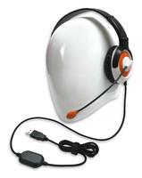 AE-55 On-Ear Headset with Microphone (USB - Orange - 12pk Classroom)