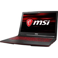 MSI GL63 Gaming Laptop Config 1 Non-Touch - i5-8-256GB 1 Year Mail-In Warranty + Accidental Damage