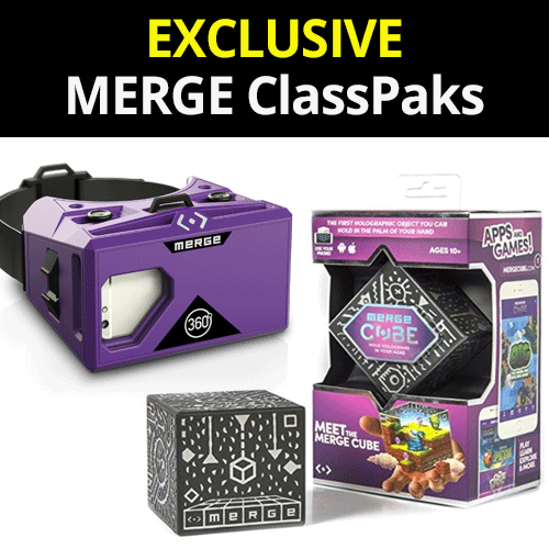 MERGE ClassPak 1 - 30 Cubes and 15 Goggles