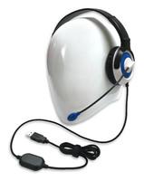 AE-55 On-Ear Headset with Microphone (USB - Blue - 12pk Classroom)