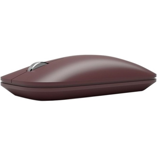Microsoft Surface Mobile Mouse - BlueTrack - Wireless - Bluetooth - Burgundy - Scroll Wheel - 4 Button(s)