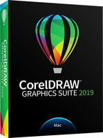 CorelDRAW Graphics Suite 2019 (Mac - Electronic Software Delivery)