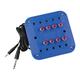 Blue Jackbox, Kids Blue, 8 Position, Stereo, Individual Volume Controls