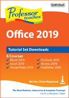 Professor Teaches Microsoft Office 2019 - Tutorial Set (Win - Download)
